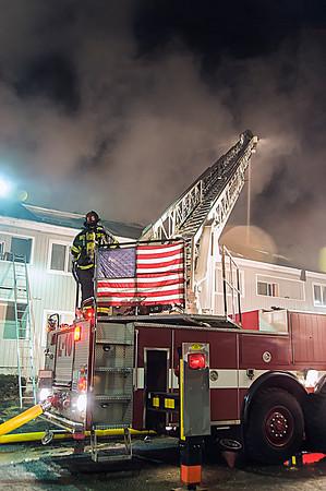 Bridgeport, CT 2nd alarm 3260 Main St. condo complex