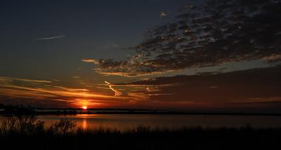 Dauphin Island 2013-01-25 Sunset
