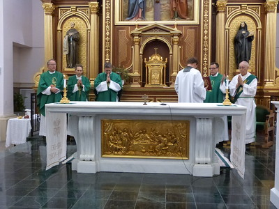 Father Sam Medley returns to Corpus Christi