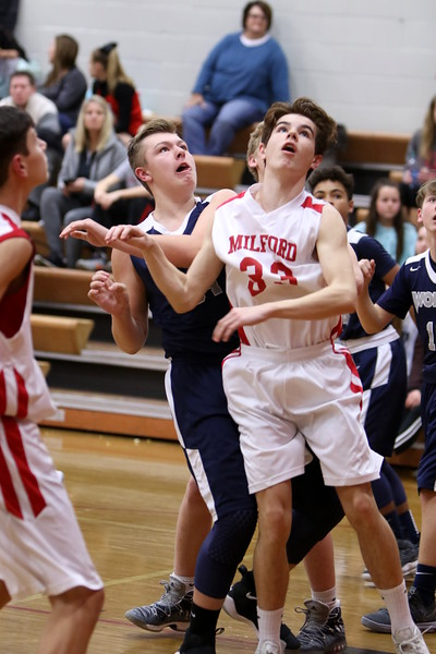 8th grade Boys BB vs West Clermont 1-22-18