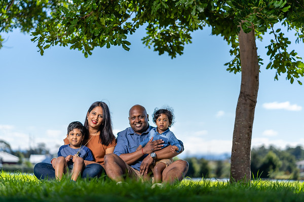 Tyrone Padayachee & Family