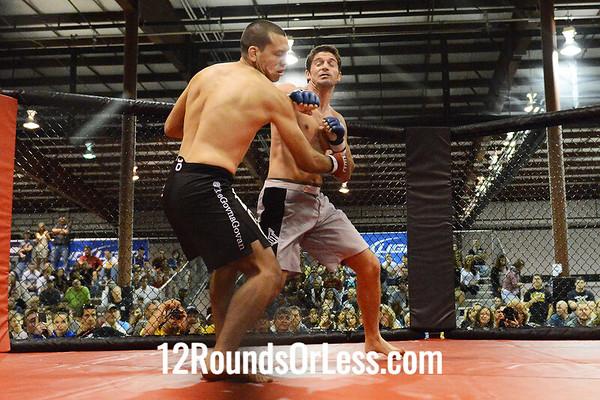 MMA Bout #1  Caleb Ball (Alexandria, VA) vs Stephen Govan (Richmond,VA)  170 Lbs.