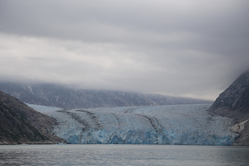 Dawes Glacier. This was probably a mile away.