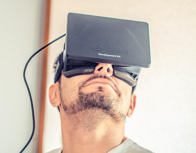 Alexander Savchukov and Oculus Rift