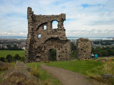 Arthur's Seat and Cannongate Kirkyard