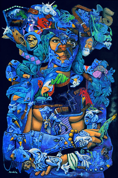 """ASTEREA"" (oil on canvas) by Luis Ardila"