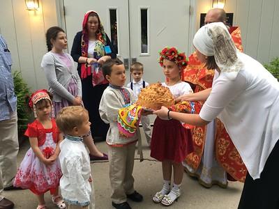 Visit of Metropolitan Philip of Poltava