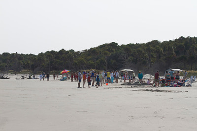 July 4: Sandcastle contest