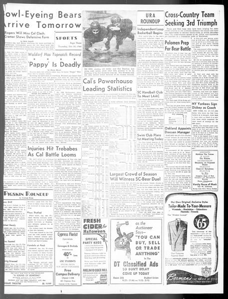 Daily Trojan, Vol. 40, No. 34, October 28, 1948