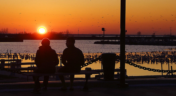 Couple at the Pier 12-21-2019