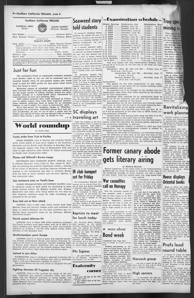 The Trojan, Vol. 35, No. 127, June 05, 1944