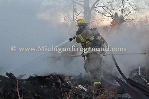 3/4/20 - Onondaga house fire, 6271 Bellevue Rd