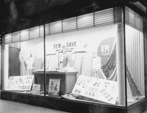 WT Grant display window in 1948. Photo by Jack Spottswood. Courtesy of State Archives of Florida, Florida Memory, http://floridamemory.com/items/show/51249