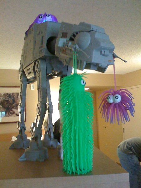 Rex the pet AT-AT