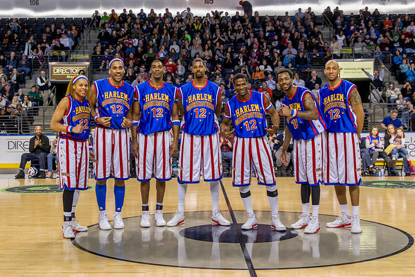 2014 Harlem Globetrotters, Showare Center