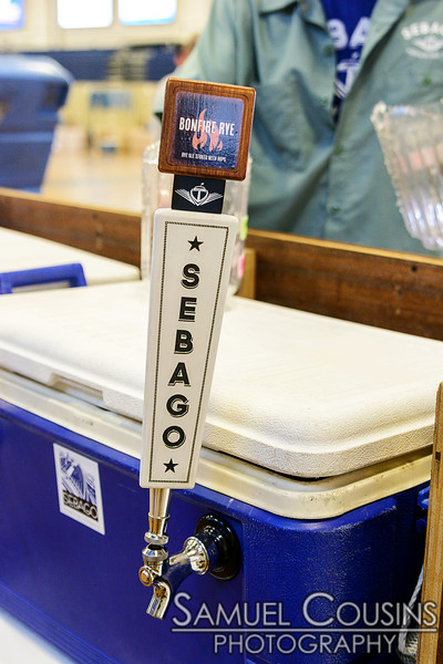 Tap for Sebago Brewing