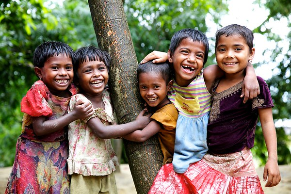 020-Portrate of Rohingya Children.