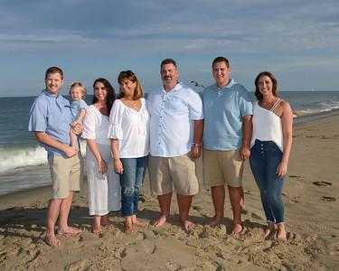 Clark Family Beach Portraits Aug. 10, 2019