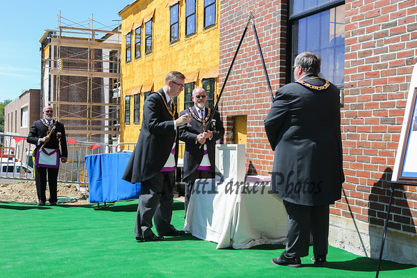 2018-7-21 Hampton Academy Cornerstone Ceremony