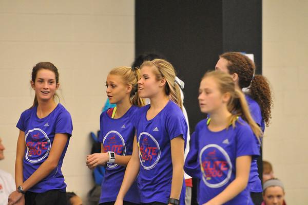 Elite 3200 Girls - 2014 Gazelle Elite MITS Meet at GVSU