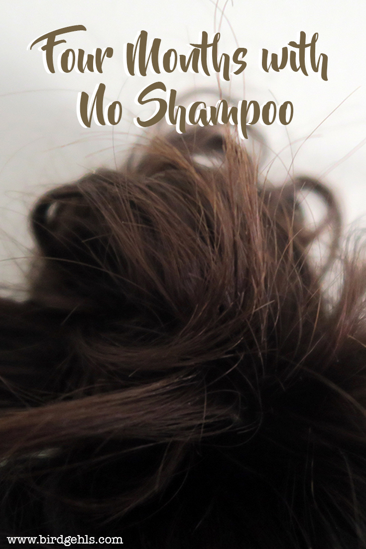 An experiment into water-only hair washing, which lasted four months. Here's what went down.