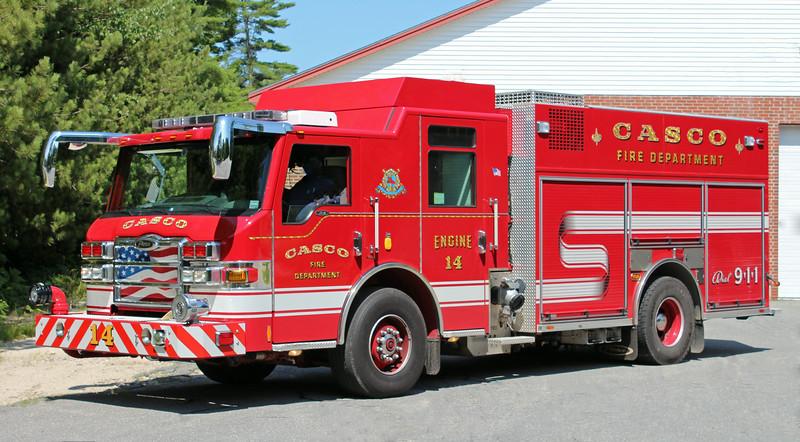 Engine 14 2009 Pierce Velocity 1500 / 1000