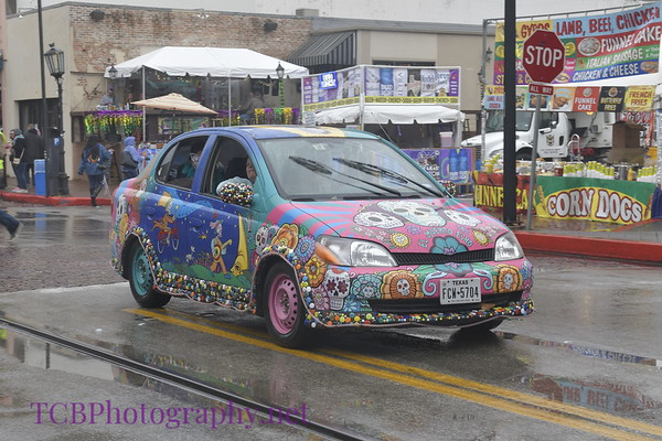 Mardi Gras Art Car Parade