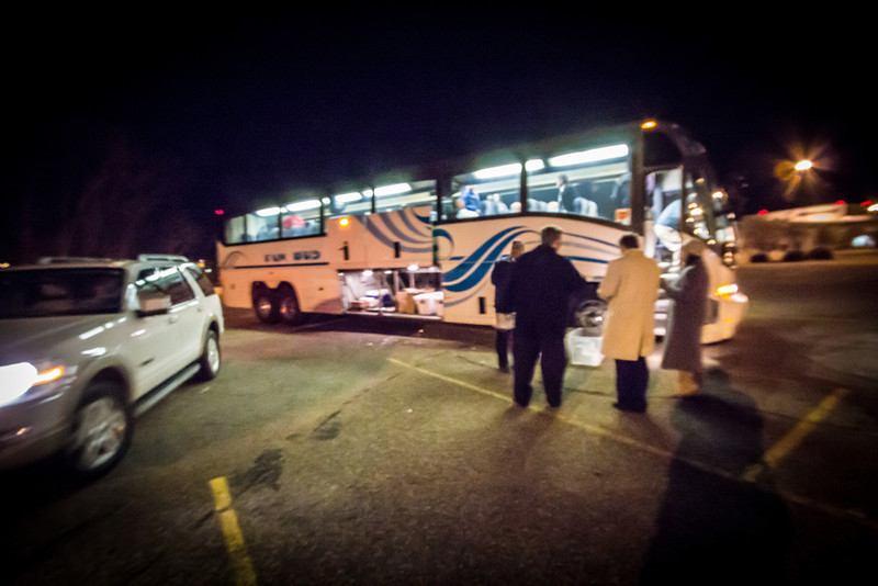 3 am departure from  Port Authority on The Fun Bus