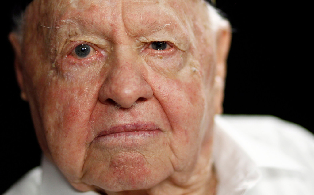 . In this Thursday, May 19, 2011, file photo, actor Mickey Rooney poses during a portrait session in Los Angeles.  (AP Photo/Matt Sayles, File)