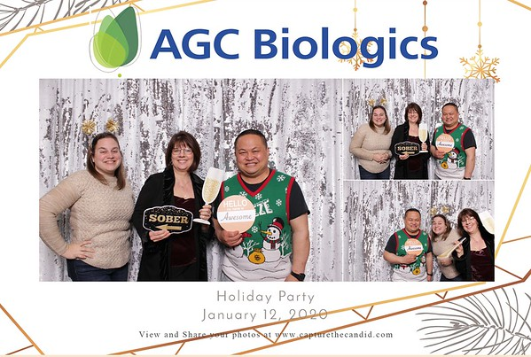 2020 AGC Biologics Holiday Party
