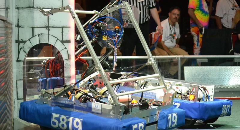 2016 FIRST Bayou Regional Robotics - Spectrum 3847 - 874