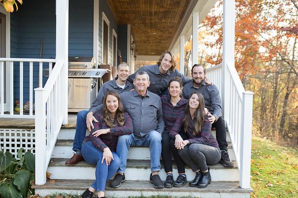 Larrow/Ross Family Session in the Berkshires