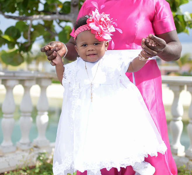 Kendra Rolle Baby Christening