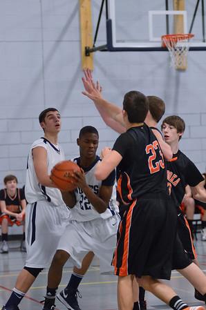 Oswego East fresh boys Basketball Vs Minooka 2013