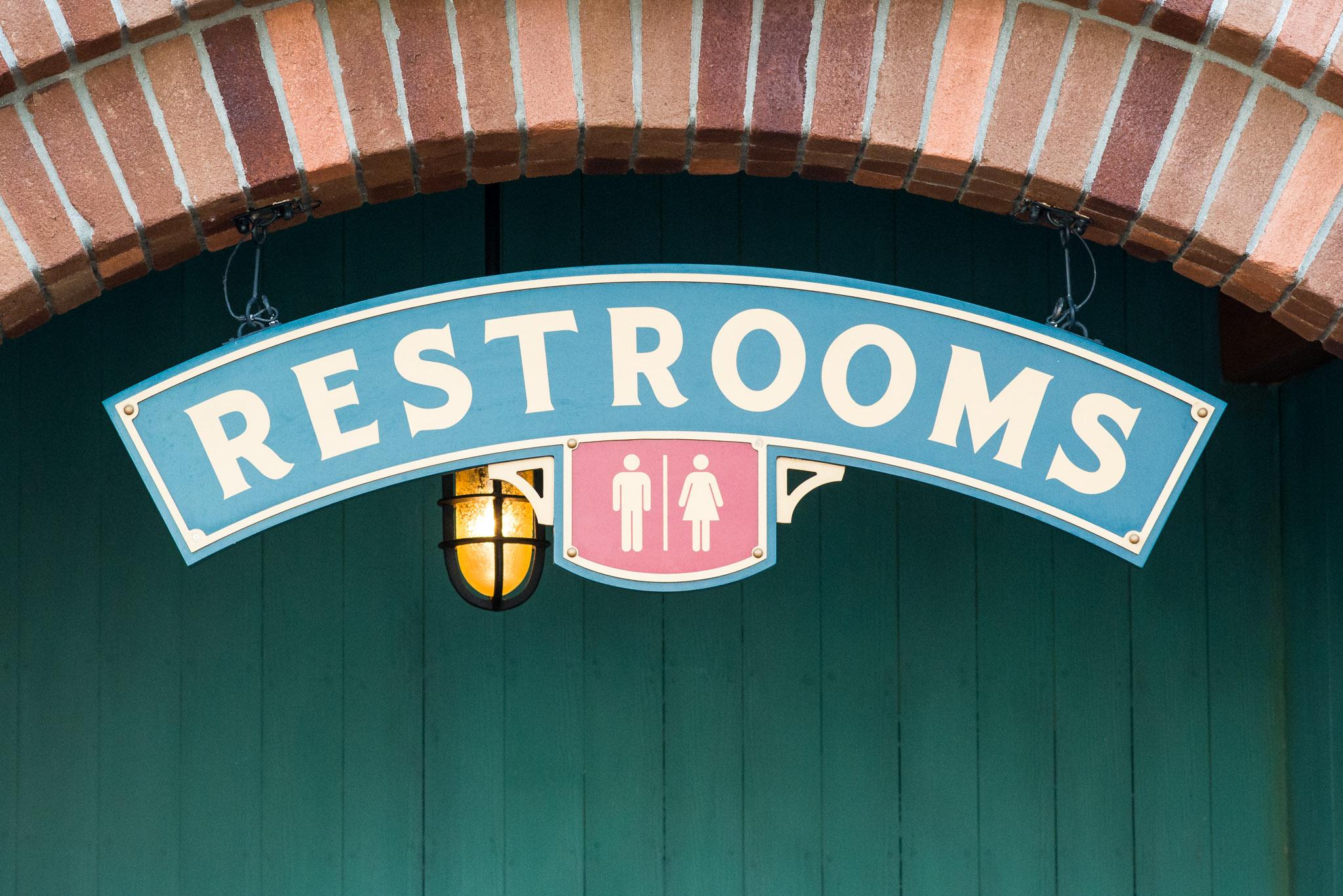 Bathroom Break - Walt Disney World Magic Kingdom