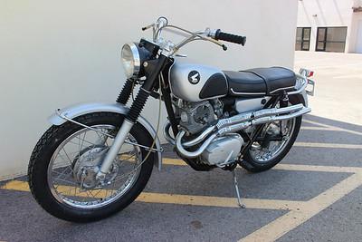 67 CL77 Honda scrambler