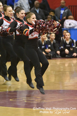 2/2/2019 Quince Orchard HS at MCPS County Poms Championship Blair HS Division 1  Photos by Jeffrey Vogt Photography with Kyle Hall