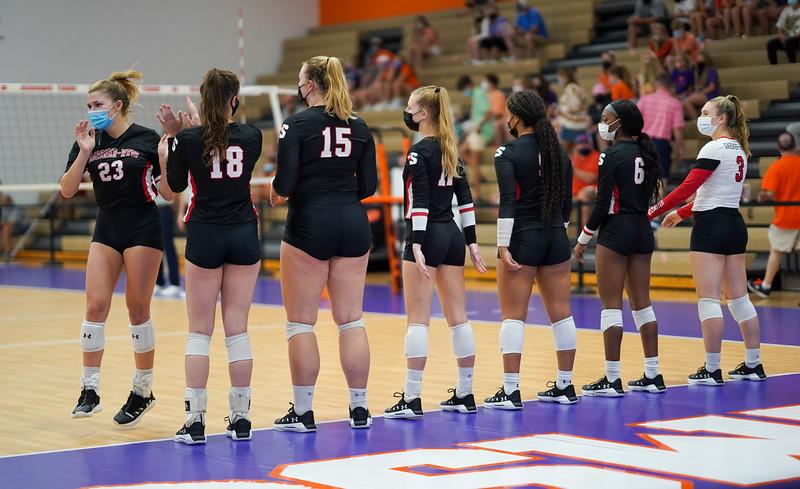 Volleyball vs. Clemson