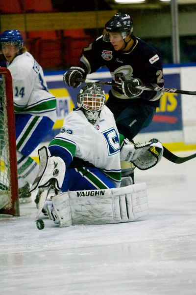 AJHL - Oct. 28/12 Calgary Canucks 3 - Spruce Grove Saints 2 (SO)