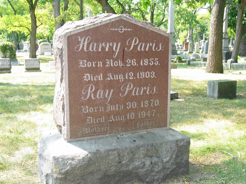 Harry and Ray Paris