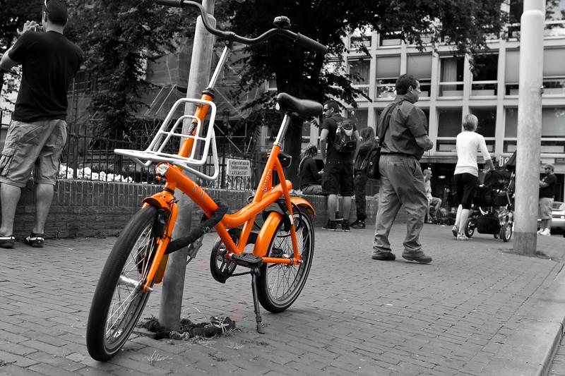 My Little Orange Bicycle