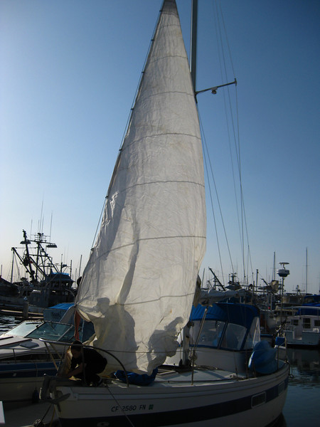 Getting ready for sailing