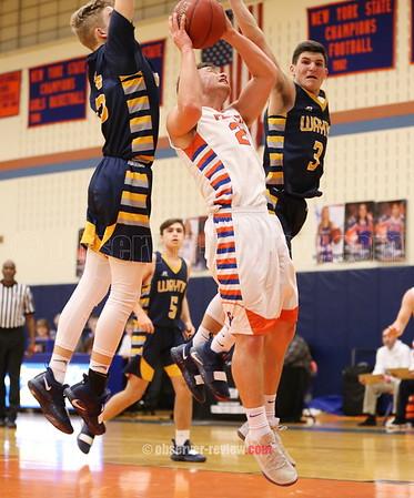 Penn Yan Basketball 1-18-19