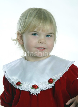 Child Studio Portrait - December 8, 2002