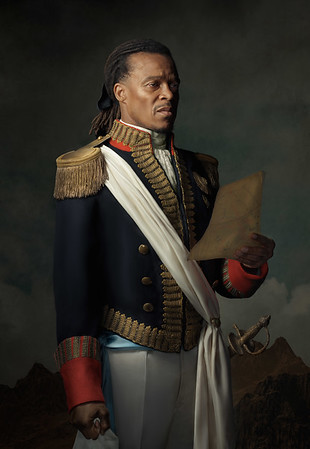 Edgar Davids: ode to Toussaint Louverture