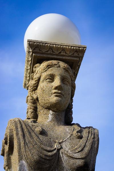 Hearst Castle Statue