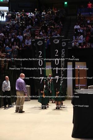 Procession In Graduation 2017