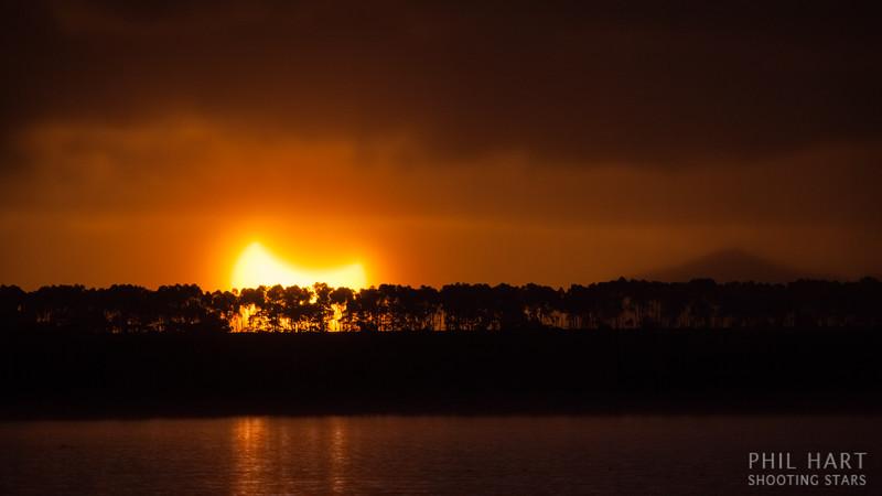 Lake Bolac Partial Eclipse