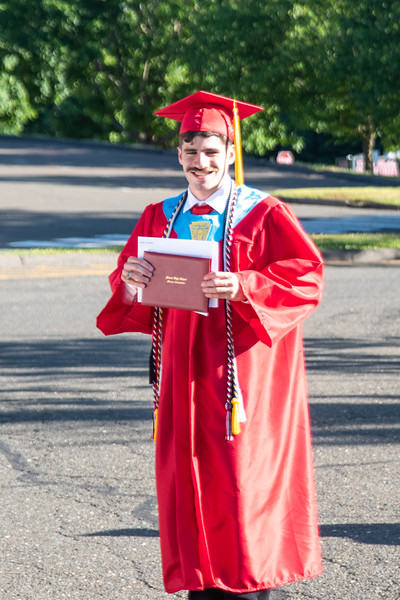 Theo's graduation