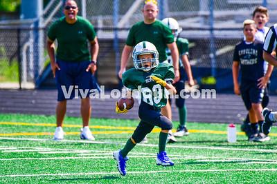 Youth Football: AYFL C-Bulldogs vs. C-Packers 08.26.2017 (by Al Shipman)